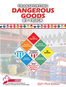 Picture of Transporting Dangerous Goods by Truck (English)