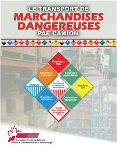 Picture of Transporting Dangerous Goods by Truck (French)